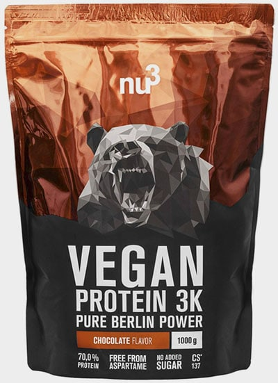 las mejores Proteínas vegetales veganas para el crecimiento