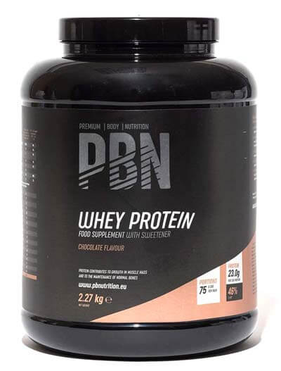 PBN - Proteína barata de suero de leche en polvo