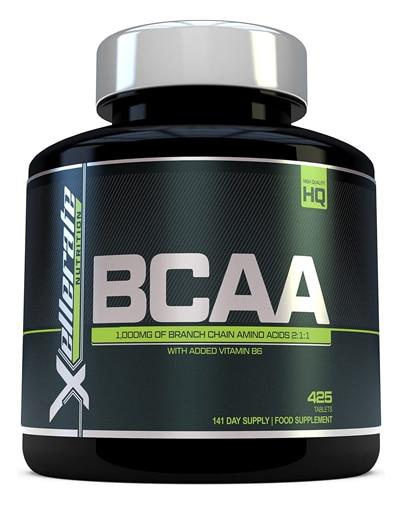 BCAA Xellerate nutrition BCAA cápsulas