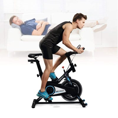 Ancheer bicicleta Spinning Profesional