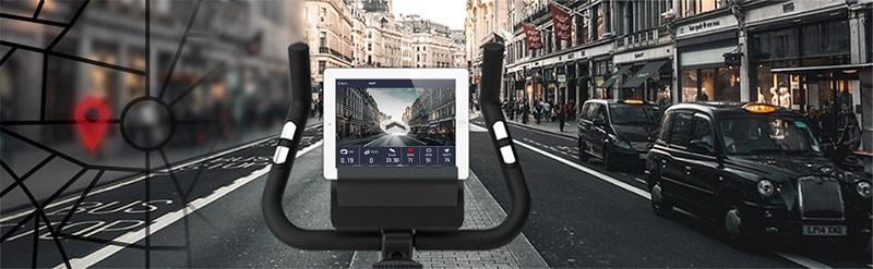 Conectividad smart bicicleta estática