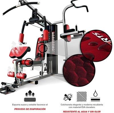 calidad en recubrimientos y tejidos multiestacion gym