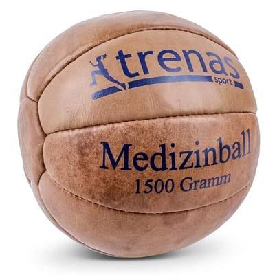 TRENAS Balon medicinal de cuero