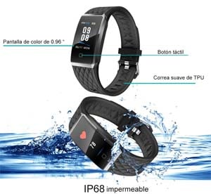 pulsometro ip 68 y 67