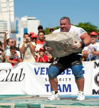 levantamiento de piedra deportes de fuerza