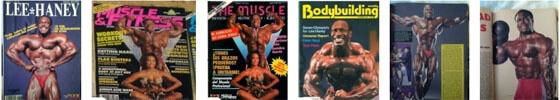 portada de revistas Lee haney