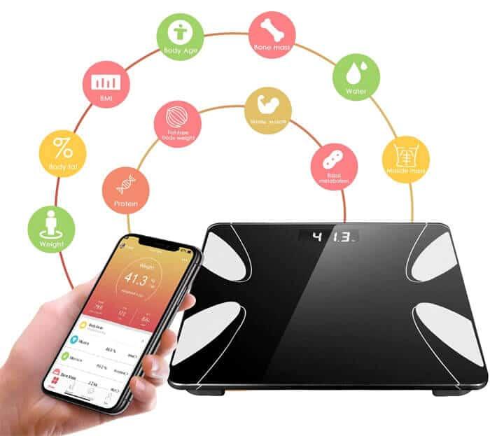 mejores basculas digitales inteligentes