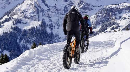 mtb en la nieve