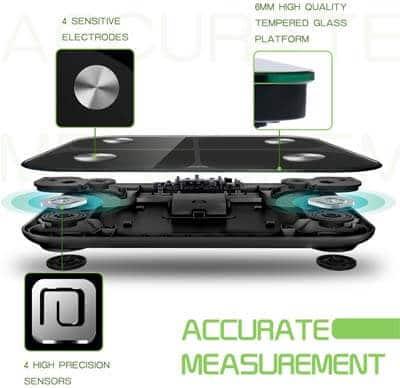 sensores de precision en basculas digitales