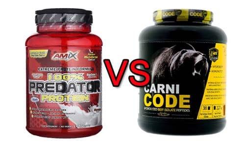 Predator amix vs carnicode