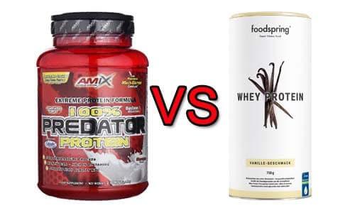 Predator amix vs foodspring