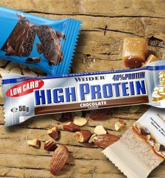 las mejores barritas proteicas