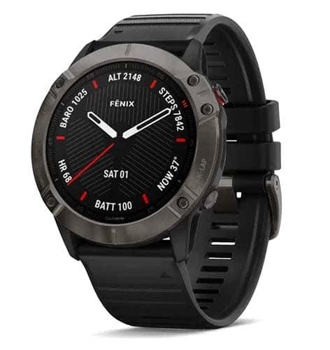 Garmin Fenix 6X Zafiro Reloj con GPS y Pulsometro el mejor y mas resistente