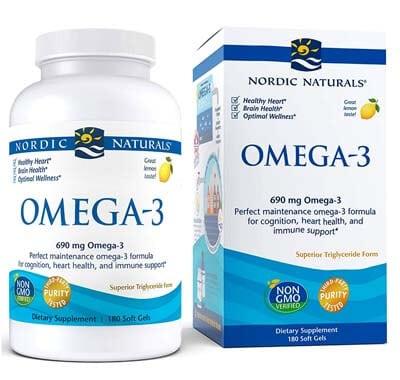 Nordic Naturals Omega-3 sabor limon