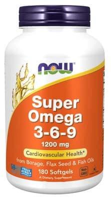 Now Foods SUPER OMEGA 3-6-9 1200mg