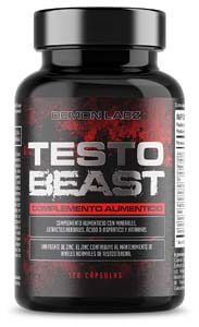 Testo Beast - Hardcore Testosterona para Hombres