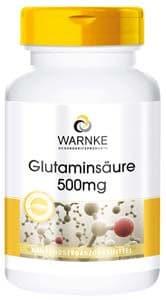 acido glutamico 500mg en forma pura