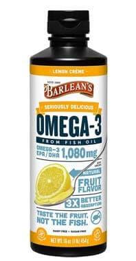 omega3 aceite con limon
