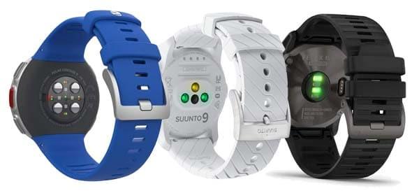 sensores de los mejores smartwatch deportivos con navegador