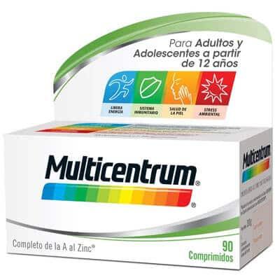 Multicentrum vitaminas Complemento Alimenticio