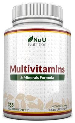 Nu U Nutrition - MultiVitaminas y Minerales