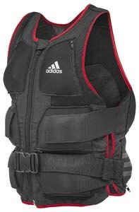 chaleco de peso ergonomico de Adidas