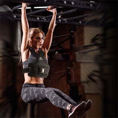 chaleco lastrado para mujeres fitness