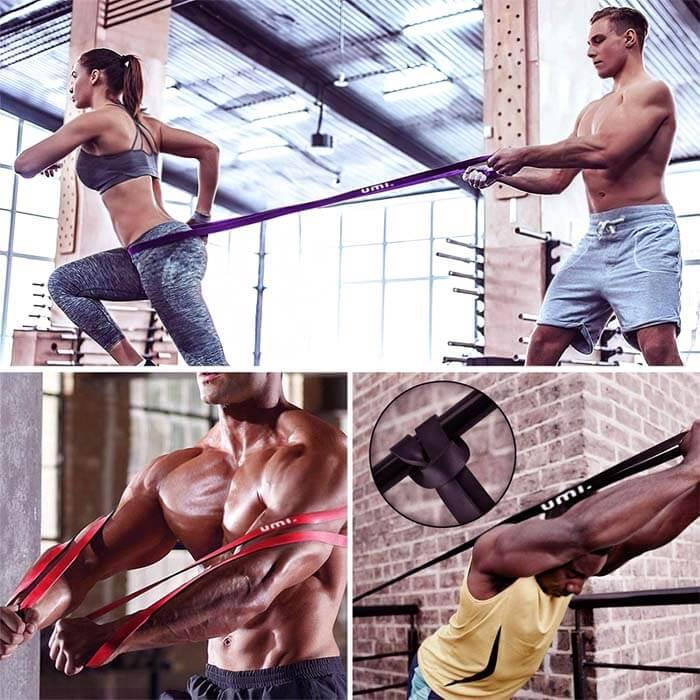 ejercicios con bandas elasticas para gluteos piernas