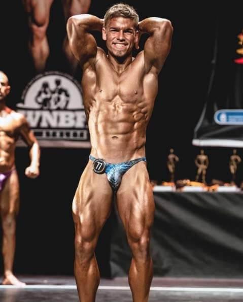 Daniel Guede competicion