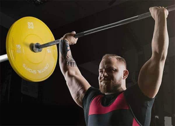 elegir barra de pesas