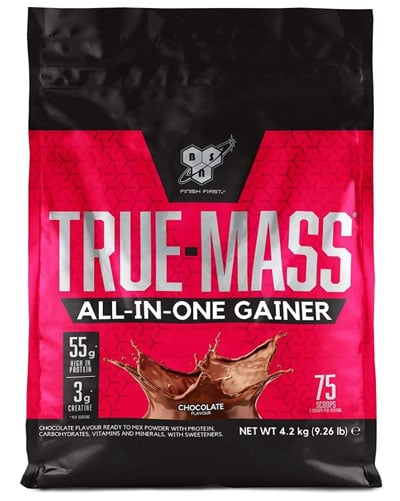 BSN True Mass All In One Gainer ganador de volumen muscular