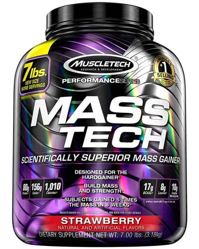 Muscletech Mass Tech Performance ganador de peso