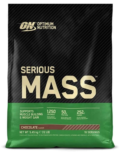 Optimum Nutrition ON Serious Mass mejor ganador de masa muscular