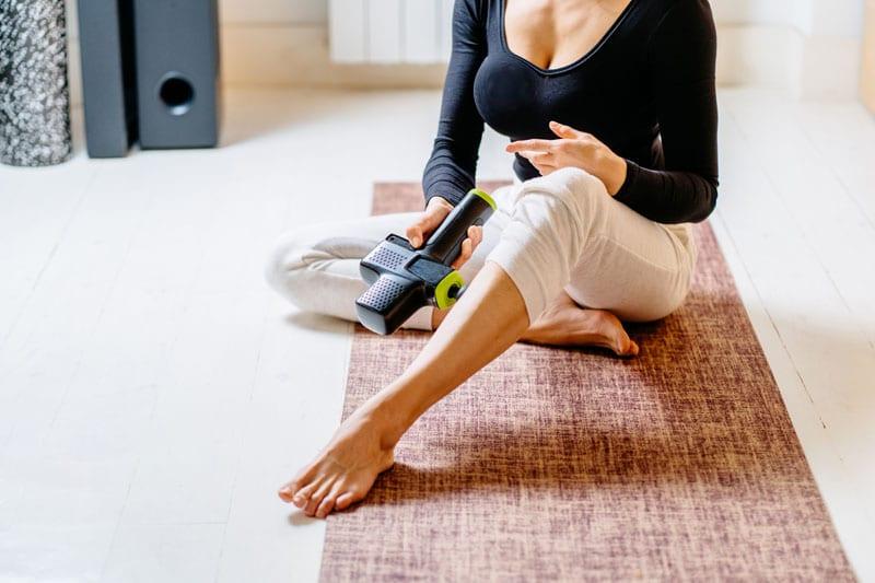 las mejores pistolas de masaje muscular