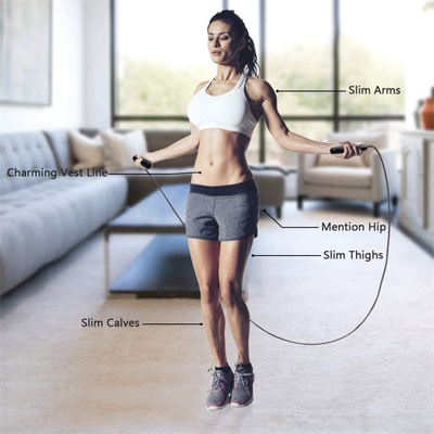 postura correcta salto de comba