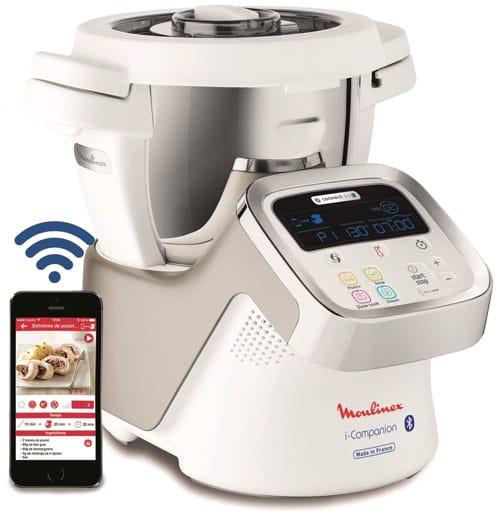 Moulinex i-Companion HF9001 - Robot cocina Bluetooth