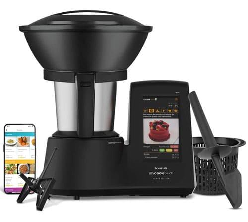 Taurus Mycook Touch Black Edition - mejor Robot de Cocina con wifi