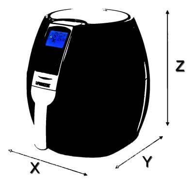 medidas por tamaño
