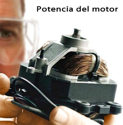 potencia motor batidora vaso