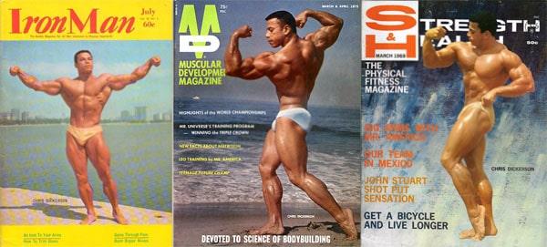 Chris Dickerson portada de revista