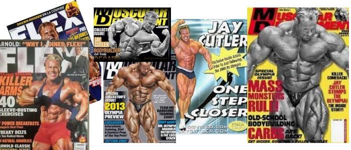 portadas de revista de Jay Cutler