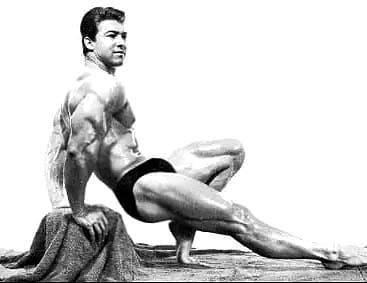 Larry pose triceps