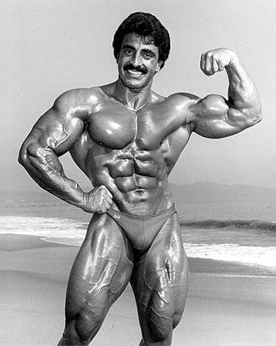 biceps de Samir Bannout