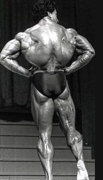 espalda de Samir Bannout