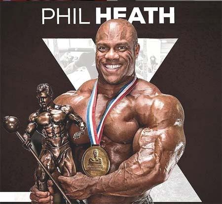 trofeos de Phil Heath